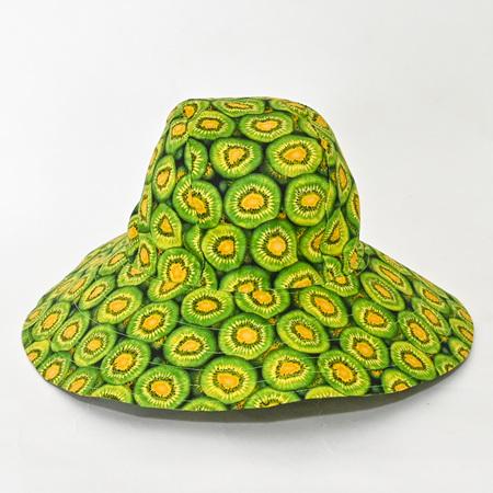Kiwi Fruit Sombrero Hat - Adult size large
