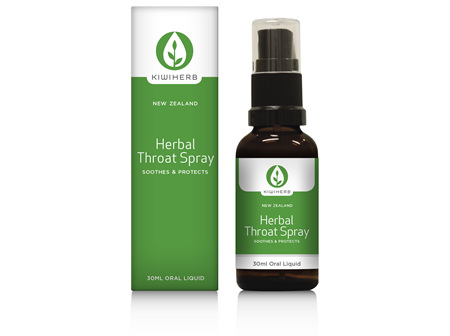 KIWI HERB Herbal Throat Spray 30ml