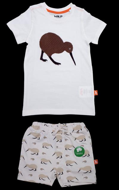Kiwi Kids T-shirt/Shorts Set