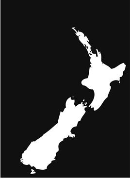 KIWI NZ MAP