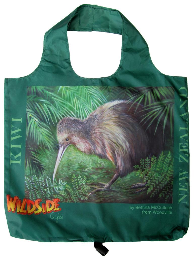 Kiwi re-usable shopping bag.
