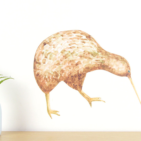 Kiwi wall decal