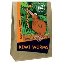 Kiwi Worms Sweets 110g