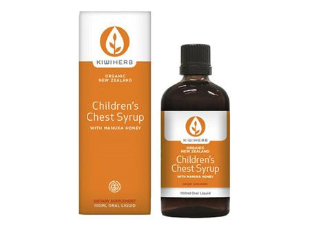 Kiwiherb Chi;dren's Chest Syrup 100ml