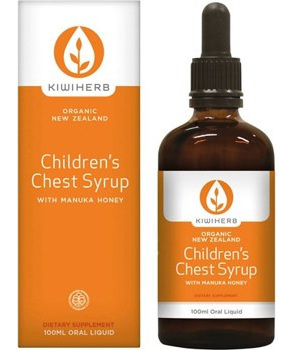 Kiwiherb Children's Chest Syrup 100ml