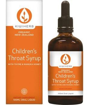 Kiwiherb Children's Throat Syrup 200ml