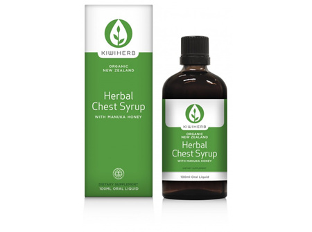 Kiwiherb Herbal Chest Relief Syrup 100ml