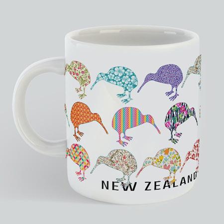 Kiwis New Zealand Mug