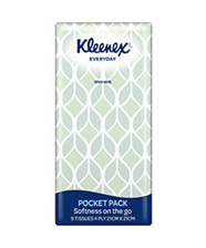 Kleenex Pocket Tissues Single Pack