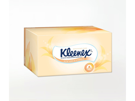 Kleenex Tissues Box