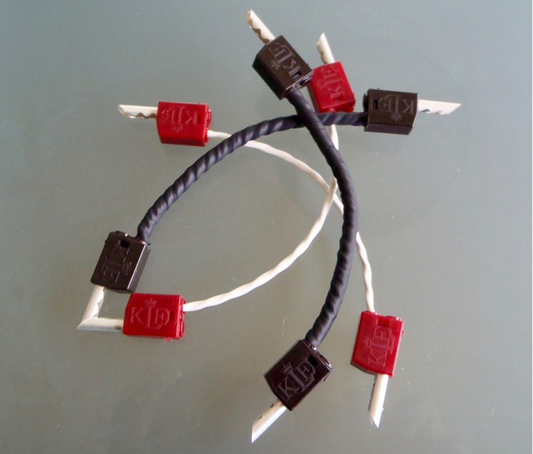 Klei Speaker Jumper Cables Totally Wired