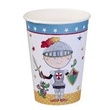 Knight Party Cups x 8