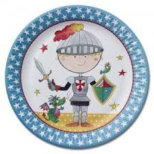 Knight Party Plates x 8
