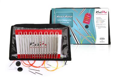 Knitpro Nova Metal Interchangeable Needle Deluxe Set