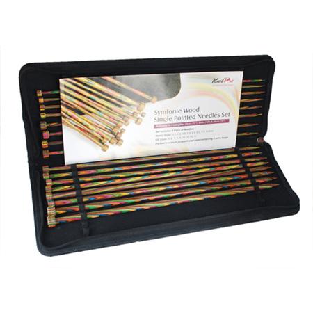 Knitpro Symfonie 35cm Single Pointed Needle Set