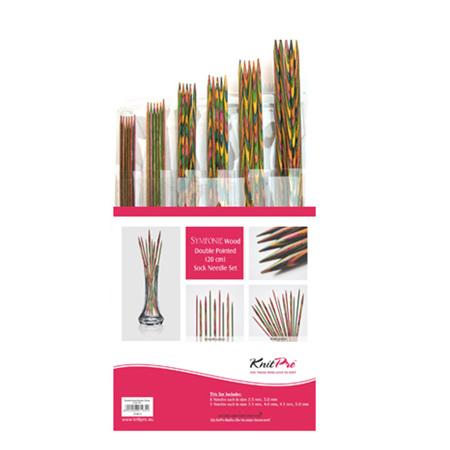 Knitpro Symfonie Double Pointed Needle Set 15cm