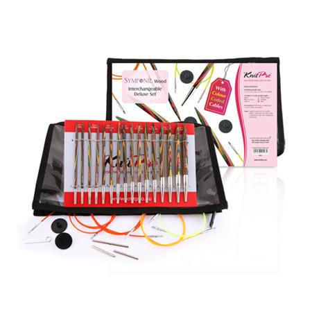 Knitpro Symfonie Interchangeable Needle Deluxe Set
