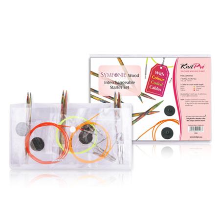 Knitpro Symfonie Interchangeable Needle Starter Set