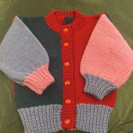Knitted cardigan 3-6 months