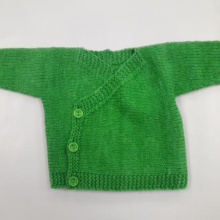 Knitted Kimono Jacket - 0-3months