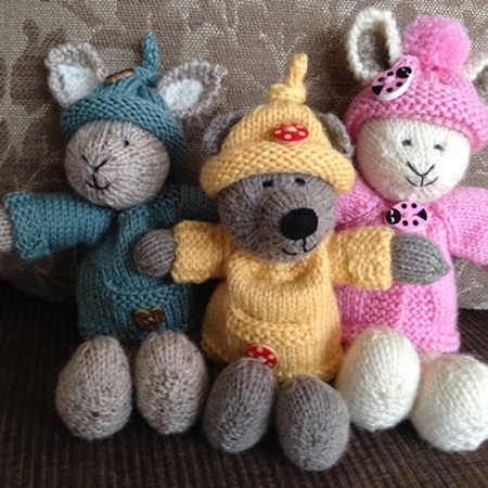 Knitted Toys: Cameron-James Designs