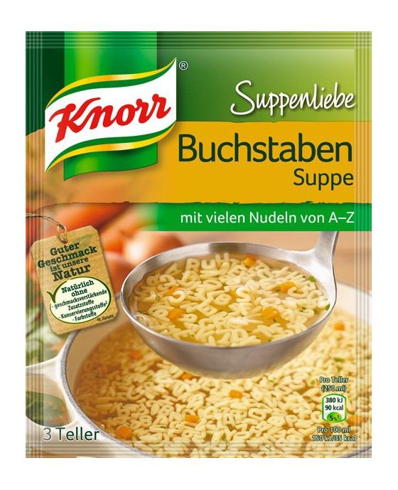 Knorr Alphabet Noodle Soup