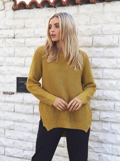 Knox Knit / Mustard
