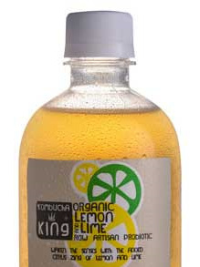 Kombucha King Superfood Lemon & Lime