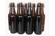 Kombucha/Brew Bottles - Flip Top x 6