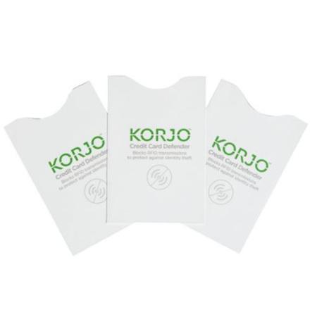 KORJO CREDIT CARD DEFENDER 3 PACK
