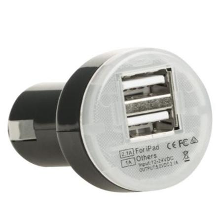 KORJO USB CAR CHARGER 2 PORT