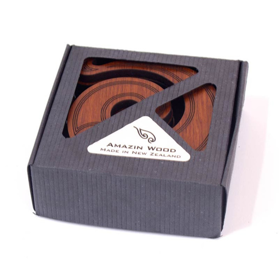 koru coasters trivet set of 6