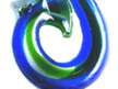 Koru Glass Wine Bottle Stoppers