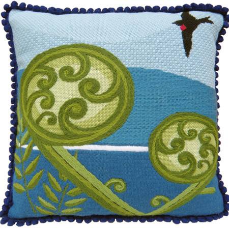Koru needlepoint kit