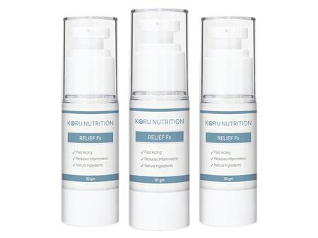 Koru Relief Fx Cream 30g Triple Pack (Save 15%)
