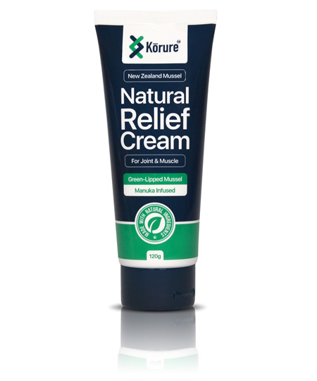 KORURE Natural Relief Cream 120g