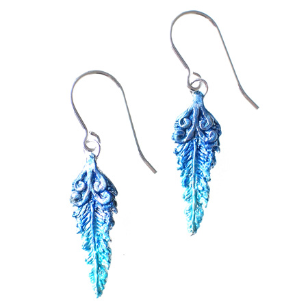 Kotare Feather Earrings