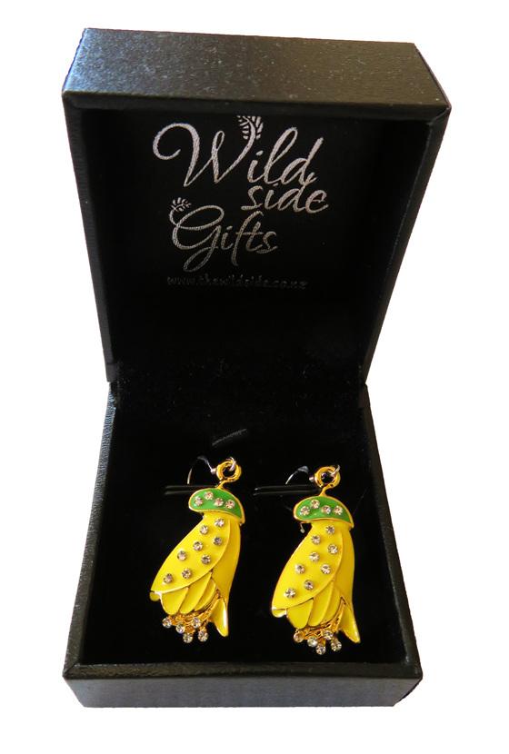Kowhai earrings