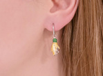 Kowhai Flower Earrings