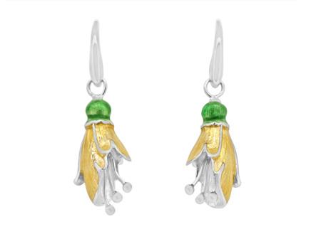 Kowhai Flower Earrings