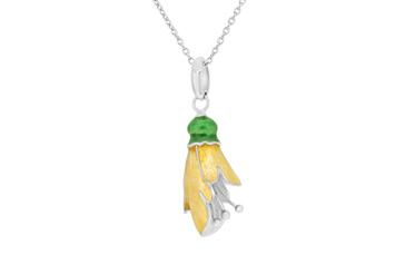 Kowhai Flower Necklace