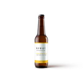 Kreol Lemon Ginger Honey Prebiotic Drink 330ml