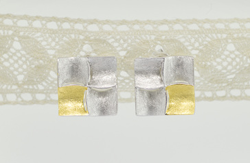 Kwadraat earrings