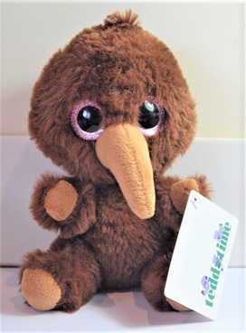 Kye Kiwi Soft Toy: Brown