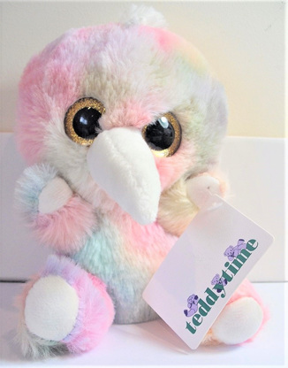 Kye Kiwi Soft Toy: Multi-Coloured