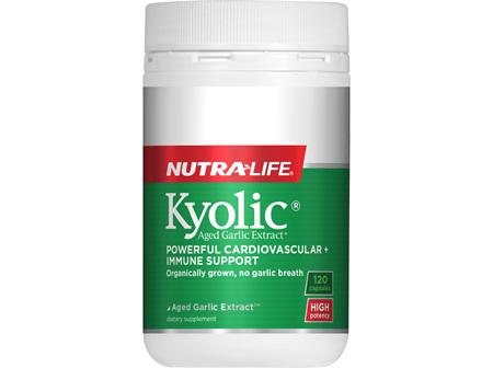 Kyolic Aged Garlic Extract High Potency - 120 Caps