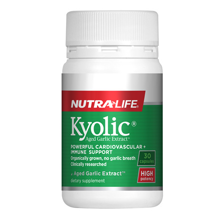Kyolic Aged Garlic Extract High Potency - 30 Caps