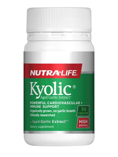 Kyolic Aged Garlic Extract High Potency - 30 Caps