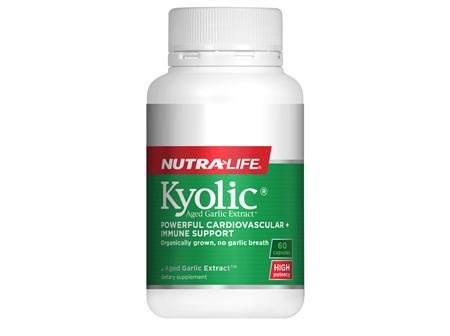 Kyolic Aged Garlic Extract High Potency - 60 Caps