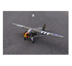 L-4 Grasshopper span 90in -1/5 Scale (15-20cc), by Seagull Models